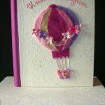 Fantacarta di Alessandra Schiavoni-mongolfiera in feltro per bimba