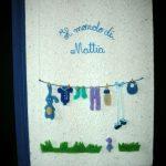 Fantacarta di Alessandra Schiavoni-panni stesi per bambino in feltro