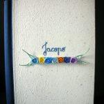 Fantacarta di Alessandra Schiavoni-roselline di filo di carta per evento bimbo